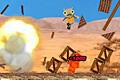 [ロケットミサイルを発射してモンスターをやっつける物理パズルゲーム]Rocket Ville