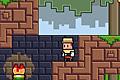 [障害を避けながら青いドアから赤いドアへ進むアクションゲーム]Pixel Quest