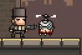 [ヒーローを操作しゾンビたちをやっつけて進むアクションゲーム]Random Heroes