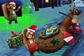 [子ども達にプレゼントを届けるアクションゲーム]Christmas Mayhem