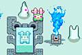[氷漬けのトモダチを解凍して助け出すアクションゲーム]Lockehorn