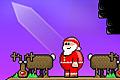 [トナカイキックでサンタを吹っ飛ばして煙突の中へ入れる物理パズルゲーム]Super Santa Kicker 2