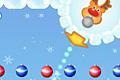 [ボールを落下させ赤いクリスマスボールを消して行くアクションゲーム]Christmas Balls