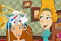 [あり得ない道具を使ってクレイジーヘアーに仕上げる美容室ゲーム]HAIR MANIA
