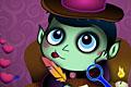 [バレンタインデーが楽しみなバンパイアの間違い探しゲーム]Vampire Valentine