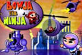 [弓忍者のポイントクリックアドベンチャーゲーム]BOWJA THE NINJA (on factory island)