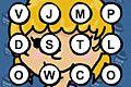 [制限時間内に指定されたアルファベットを見つけだす脳トレミニゲーム]Mustache Slap