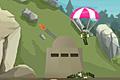 [パラシュート部隊を砲台で迎え撃つシューティングゲーム]Ragdoll Parashooter