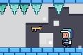 [障害を避けながら青いドアから赤いドアへ進むアクションゲーム]Pixel Quest – The Lost Gifts