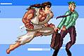 [サラリーマンを吹っ飛ばすクレイジー格闘家の吹っ飛ばしゲーム]Mad Karate Man