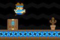 [ランニングマシンに乗って障害物を避けながら進むレトロ風アクションゲーム]Super Treadmill