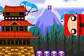 [次々に出現する忍者をなるべくたくさん集めるゲーム]Ninja Cubes