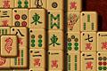 [山に積まれた麻雀牌をとっていく上海パズルゲーム]Ninja Mahjong