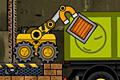 [磁石アームマシーンで荷物を荷台に積み込むアクションパズルゲーム]Truck Loader 3