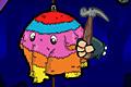 [ゴムにつるされているゾウ人形をぶったたくアクションゲーム]Pinata hunter