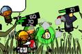 [戦士に指令を送って敵と戦い進むパタポン風アクティブRPG]Monster Slayers