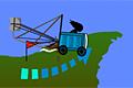 [仮設トイレを改造して崖から空高く飛び上がる吹っ飛びゲーム]Potty Racers 3