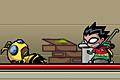 [能力の違う5人の戦士を切替えながら進むアクションゲーム]Teen Titans. Tag Team Titans