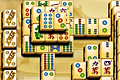 [山積みになっている麻雀牌を取っていく上海パズルゲーム]Mahjong Kingdoms