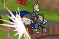 [キャラ入り乱れて戦うスマッシュブラザーズ風闘格闘アクションゲーム]Newgrounds Rumble