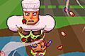 [3つの色を切り替えて食べ物を食べる腹ぺこ犬のアクションゲーム]Hunger Dog