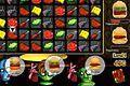 [ハンバーガーの材料を揃えてゾンビたちに与えるパズルゲーム]Katrina's Kitchen