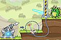 [レーザー砲でモンスターをやっつける物理パズルゲーム]LASER CANNON 3