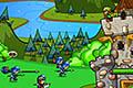 [城を攻めにくる敵を弓矢を使って迎え撃つ防衛シューティングゲーム]Archers Duty