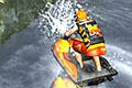 [ジェットスキーでコースを周回するレーシングゲーム]Jet Ski Racer