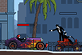 [車に乗ったマフィアのシューティングアクションゲーム]Mobster Roadster
