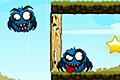 [丸っこい青モンスターをやっつける物理パズルゲーム]Spiters Annihilation 2