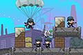 [大砲弾で敵兵をやっつけるAngry Bird的物理パズルゲーム]Artillery Rush 2