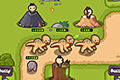 [恐竜からリンゴを守り抜くキュートな防衛ゲーム]Dino Assault