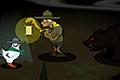 [暗闇に潜むクマを避けながらニワトリを探し出すホラーアクションゲーム]HOLY CRAP, BEARS!!
