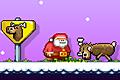 [制限時間内におもちゃ工場まで行くサンタのアクションゲーム]Santa Run 2