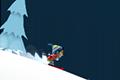 [スキーで雪崩から逃げまくるワンキーアクションゲーム]Ski Safari