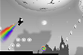 [虹パワーで飛行するランニングアクションゲーム]Tap Rocket
