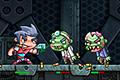 [宇宙ステーションで大量のゾンビをやっつけるシューティングアクションゲーム]Zombinsanity
