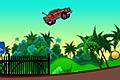 [起伏の激しいコースを疾走するバランスカーアクションゲーム]Awesome Vehicles