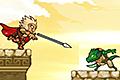 [ヤリを投げて敵をやっつけるパズルゲーム]Spanthera