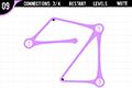 [ゴムラインを伸ばして繋げるロジックパズルゲーム]Strand