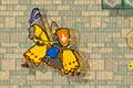 [塔の最上階を目指す馬に乗った兵士のアクションゲーム]Neverending Chevalier