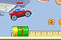 [机の上を走り抜けるミニカーのアクションゲーム]Desktop Racing 2
