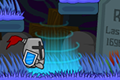 [自動的に動く戦士のワンクリックアクションゲーム]One Button Vania