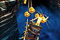 [鉱山トロッコに乗りながら金塊を集め進むアクションゲーム]Rail Rush Worlds