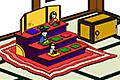 [ひな人形が置いてある和室からの脱出ゲーム。]HINA