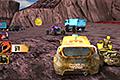 [いろんな車入り交じってダートコースを疾走するバトルレーシングゲーム]Diablo Valley Rally