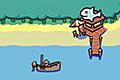 [ボートで移動して魚を釣りまくるフィッシングゲーム]FISHY WATERS