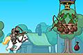 [馬にまたがった戦士のアクションゲーム]King's Rider