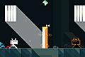 [鏡状に分身が動くネコのアクションパズルゲーム]Ditto